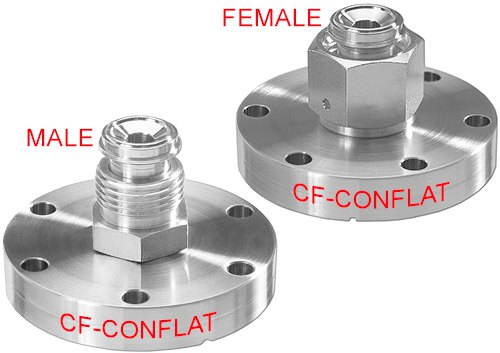 VCR Male/Female to Conflat Cover Image
