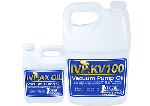 KINNEY PUMP OILS Cover Image