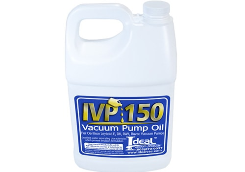 IVP 150 PUMP OIL Cover Image
