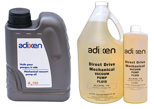 ALCATEL ADIXEN PUMP OILS Cover Image