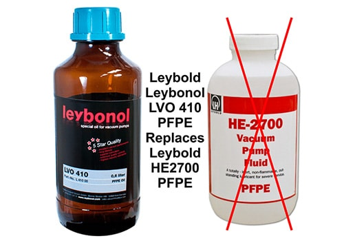 LEYBOLD FOMBLIN PFPE OILS Cover Image