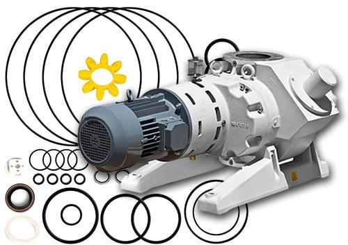 Ideal Vacuum Roots Blower Booster Rebuild Kits Rebuild