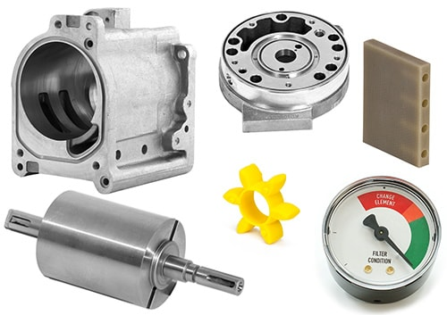 ROTARY VANE PUMP PARTS Cover Image