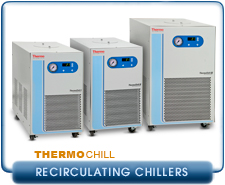 Thermo Scientific ThermoChill I, II, III Standard LR Temperature Recirculating Chiller 700W, 1000W, 2000W Cooling, RS232, 115V, 230, PD1, PD2, MD30