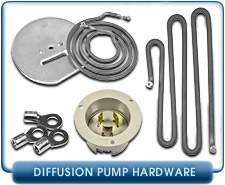 Diffusion Pump Parts - Varian, Edwards, Leybold, CVC