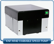 KNF Neuberger N940.5 APE-W Diaphragm Vacuum Pump With User Adjustable Vacuum, Variable Pumping