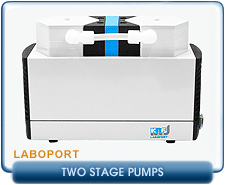 New KNF Neuberger Diaphragm Pumps - Two Stage Laboport Series Pumps