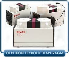 New Oerlikon Leybold Divac Diaphragm Vacuum Pumps