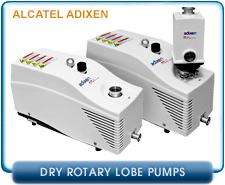 New Alcatel Adixen ACP Series Dry Rotary Lobe Vacuum Pumps - Alactel Adixen ACP15, ACP 28, & ACP40 Dry Rotary Lobe Vacuum Pump Rebuild Kits