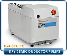 Edwards iGX100L, GX100L, iGX100M Dry Vacuum Pump, 62 CFM 200-230V 50/60Hz, 3.75 mtorr.