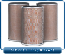 Brand NEW Edwards Stokes 412-H Replacement Oil Mist Filter Pleated