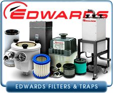 Edwards Inlet Traps And Oil Exhaust Mist Eliminators