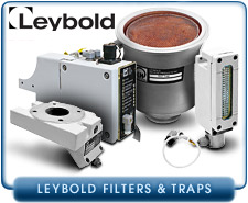 Leybold Filters, Intake Traps, & Replacement Filter Media