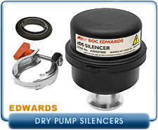 Edwards Dry Scroll Pump Silencers
