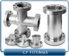 Ultra High Vacuum Conflat CF Fittings