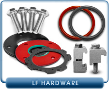 Large Flange Hardware - Clamps, Centering Rings, Bolt Sets, and Other ISO Fitting & Flange Hardware