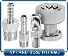 FNTP Coupling, FNPT to FNPT Elbow, Tee PVC, FNPT to Hose, Hose Plug, Hose to hose.