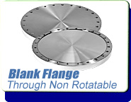 Conflat Flange (CF) Blank Through Non-Rotatable, CF 1-1/3 inches Stainless Steel Fittings