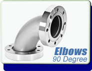 90 Degree Elbow Ultra High Vacuum Fittings