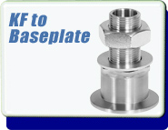 ISO KF to Base Plate Adaptive Vacuum Fittings