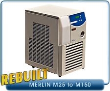 NESLAB Thermo Scientific M33 Merlin Chiller Recirculating Refrigerated Water Bath Circulator Rebuilt