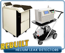 New Helium Leak Detectors - Alcatel, Edwards, Inficon, Oerlikon-Leybold, Pfeiffer, and Varian