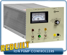 Varian 921-0062 Ion Pump Control Unit For 8, 20, 30, and 60 l/s Pumps Used Rebuilt Agilent Varian Part Number 921-0062