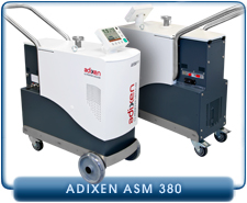 Pfeiffer Adixen ASM 380 Dry Helium Leak Detector Cart System, Internal ACP Back Pump