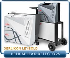 Oerlikon Leybold Phoenix L300i series, cart or Module Helium Leak Detectors