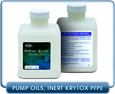 Krytox Chemically Inert Vacuum Pump Fluids - 1506, 1514, 1525
