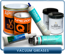 Vacuum Greases - Fomblin Inert PFPE Greases, Silicon Greases, And Apiezon Greases