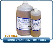 Tuthill Kinney Vacuum Pump Oils - AX Oil & KV Oil