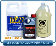 Leybold HE Hydrocarbon Rotary Vane Vacuum Pump Oils