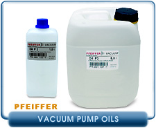 Pfeiffer Vacuum Pump Oils - P3