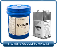 Stokes Vacuum Pump Oils - V Lube