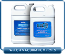 Welch Hydrocarbon Rotary Vane Vacuum Pump Oils