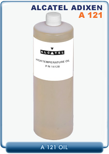 Alcatel Adixen A121 Hydrocarbon Based Mineral High Temp Vacuum Pump Oil, 1 Liter (1 Quart)