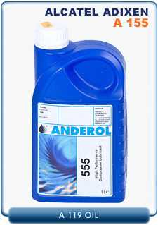 Alcatel Adixen A155 Synthetic Di-Ester Fluid Pump Oil, 1 Liter (1 Quart)