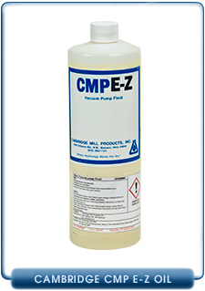 Cambridge Mill Products Synthetic CMP E-Z ELITE Z Vacuum Pump Oil, 1 Liter