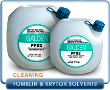 Fomblin And Krytox PPFE Vacuum Oil Cleaning Solvent - Fomblin PFS-2
