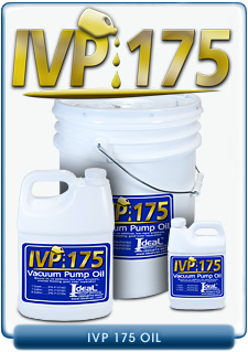 Ideal Vacuum Products IVP-175 Brand Vacuum Oil, Our Substitute For Oerlikon Leybold HE-175