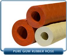 Pure Gum Rubber Vacuum Hose