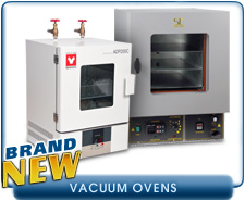 NEW Shel Lab 1425 Compact Vacuum Drying Oven. NEW Yamato ADP21 ADP-21 Compact Vacuum Drying Oven.