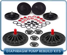 Leybold Oerlikon DIVAC 1.2 L Dual-Stage Diaphragm Vacuum Pump Spares Rebuild Kit