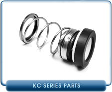Kinney KC5, KC8, and KC15 Rotary Piston Vacuum Pump Mechanical Shaft Seal Kit