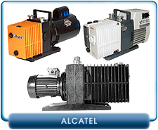 Alcatel Rotary Vane Vacuum Pump Repair and Rebuild Kits