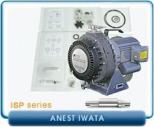 Anesta Iwata ISP Dry Scroll Vacuum Pump Rebuild and Repair Kits - ISP90, ISP250, ISP500, & ISP100