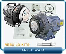Anesta Iwata Rebuild and Repair Kits - ISP90, ISP250, ISP500, & ISP100
