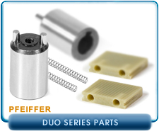 Pfeiffer DUO Series Parts Half For Pfeiffer DUO 2.5 And DUO 2.5C Rotary Vane Vacuum Pump