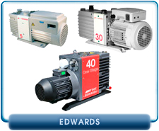 Rebuilt Edwards Rotary Vane Vacuum Pumps